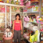 Nilda of Peru received $225.00 to purchase supplies for her children's party store.