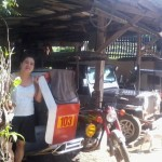 Juliana Morales of the Philippines received $345 to purchase new tires for her motorcycle transportation company.