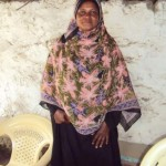 Esha of Kenya received $575.00 to purchase charcoal to resell.