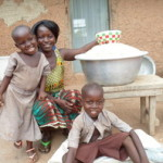 Adjoa Baabankpe of Ghana received $75.00 to purchase bulk cereal.