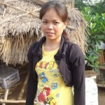 Chanthoeurn Sok of Cambodia received $225.00 to purchase piglets and pig food.