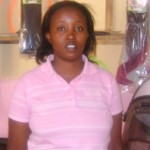 Millicent Ouma of Kenya received $250.00 to purchase hair dryers for her salon.