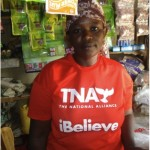 Amina from Kenya received a loan to buy maize and wheat flours, cooking oil, fat, and tea leaves for her retail shop.