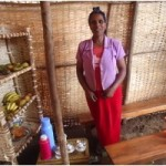 Tiringo from Ethiopia received a loan to buy equipment for selling tea and bread.