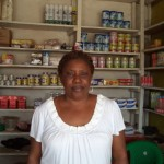 Ayesata of Sierra Leone received $725.00 to purchase cigarettes, drinks, and soap to expand her business.