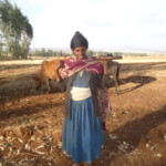 Bekelu of Ethiopia received $300.00 to buy fertilizer and seleted seeds.