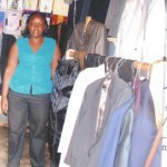 Jassy of Uganda received $200 to purchase more coats, suits, shirts and other items.