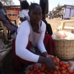 Roseline of Kenya received $225.00 to buy tomatoes and packaging to sell.