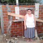 Teresa of El Salvador received $575.00 to help stock her shop.