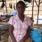 Damaris of Kenya received $225.00 to buy second hand clothing for resale.