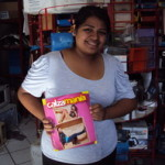 Griselda of Mexico received $400.00 to buy shoes for women, men and children.