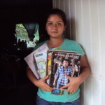 Nidia of Mexico received $550.00 to buy different types of shoes.