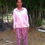 Sen of Cambodia received $250.00 to buy fertilizers and pesticide.