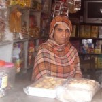 Zakia of Pakistan received $400.00 to purchase a stock of grains, oil, and biscuits.