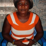 Augustina of Ghana received $150 to buy clay and firewood for her trade in ceramic wares.
