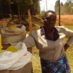 Eunice of Kenya received $50 to purchase cereals for resale.