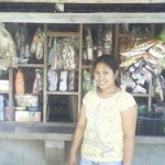 Merry of the Philippines received $450 to expand the number of products her business sells.