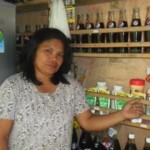 Arsenia from the Philippines received $250 to buy additional merchandise for her business selling snacks and drinks.