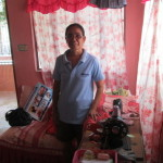 Gloria from the Philippines received a $300 load to buy additional sewing materials.