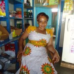 A loan of $950 helped Janet to purchase cooking fat, loaves of bread, sugar, tea, milk and washing detergent.