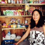 Lalen from the Philippines received a $430 loan to buy stock in bulk for her store.