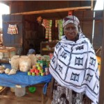 Mahamadu from Ghana received $200 to buy groceries in bulk for her grocery store.