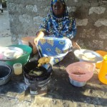A loan of $575 helped Mishi to purchase potatoes and cooking fat.