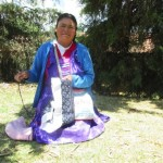 Paula from Mexico received $200 to buy sheep and feed for her business raising sheep and embroidering handicrafts.