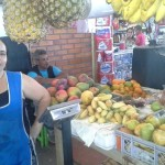 Rosalba from Colombia received a $151 loan to make improvements on her market stand.