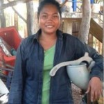 Sean from Cambodia received $500 to buy meatballs and coconut for her business selling meatballs and snacks.