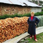 Shpresa from Albania received $525 for basic repairs to her home, including her roof. She is a farmer growing onions, potatoes, and wheat.