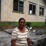 Telesia from Samoa received $375 to buy seedlings, a backpack sprayer, wheelbarrow, and chemicals for her business selling taro and banana.