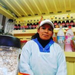 A loan of $1,175 helped Nieves Felipa to buy a blender and a beater to sell nutritious juices.