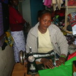 Bilhah from Kenya received a loan of $250 to expand her tailoring business.