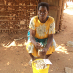 Mary from Kenya received a loan of $250 to buy fish and cashew nuts.
