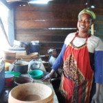 Fati from Ghana received a loan of $250 to purchase ingredients in bulk.