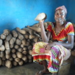 Salia from Ghana received a loan of $150 to purchase yams.