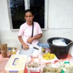 $150 was loaned to Aquilisa to buy coconuts, flour, sugar, vegetables, and rice