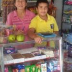 $185 was loaned to Blanca to expand her stock in her retail business selling groceries and snacks