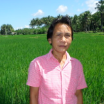 $250 was loaned to Bonifacia to buy fertilizer and repair her chainsaw