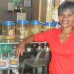 $250 was loaned to Magdalena to buy more merchandise for her business selling food and toiletries