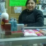 Erika from Ecuador received a loan of $1,100 to buy more cosmetics products to sell.