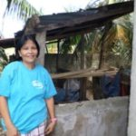 Ma. Nena from the Philippines received a loan of $250 to buy piglets and hog mash.