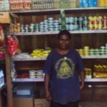 Maria from the Solomon Islands received a loan of $425 to buy more stock of rice, biscuits and canned goods.