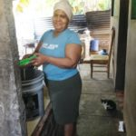 Maria Elena from El Salvador received a loan of $750 to buy milk and make cheese.