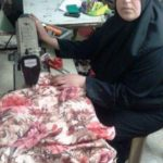 Wisam from Palestine received a loan of $1,000 to buy a sewing machine and more fabric and yarn.