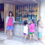 Annaliza in the Philippines received a loan of $57 to increase the selection in her convenience store.