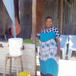 Chiku in Tanzania received a loan of $275 to buy rice, maize flour, cooking oil, and other ingredients for her food vending business.