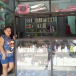 Doris in the Philippines received a loan of $145 to buy products for her beauty supply store.