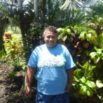 Fuli in Samoa received a loan of $225 to buy fertilizer, chemicals, wheelbarrow, tiller, rake, gum boots, and spade for her business selling fish and growing taro and banana.